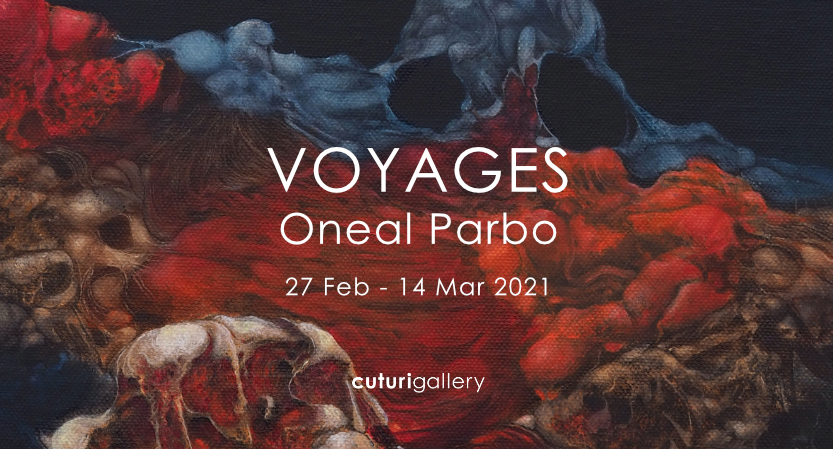 Voyages: Solo Exhibition by Oneal Parbo