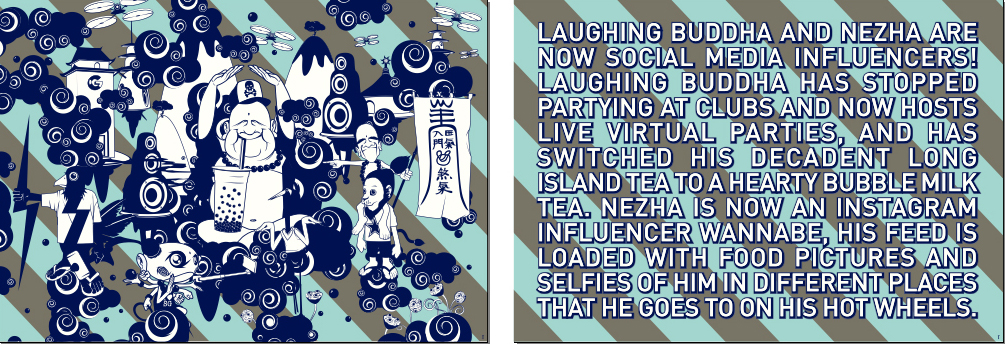Laughing Buddha and The Story
